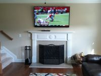 TV over fireplace install | Current Installations ...