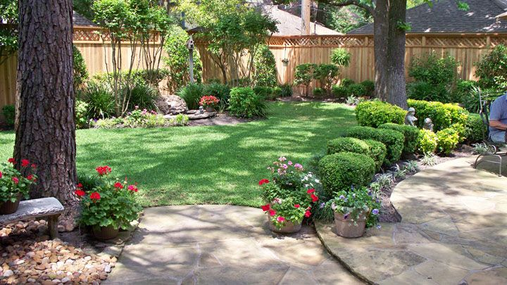 Landscaping Along Privacy Fence