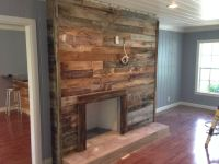 Reclaimed Wood Fireplace Surround | Odds & Ends ...