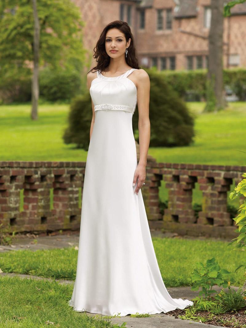 plain wedding dresses Elegant And Classy Simple Wedding Dresses