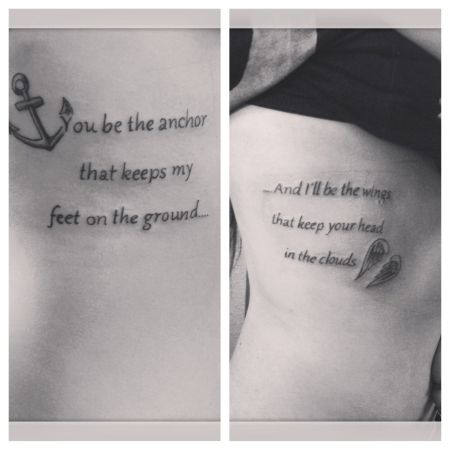 Girly Friend Tattoos
