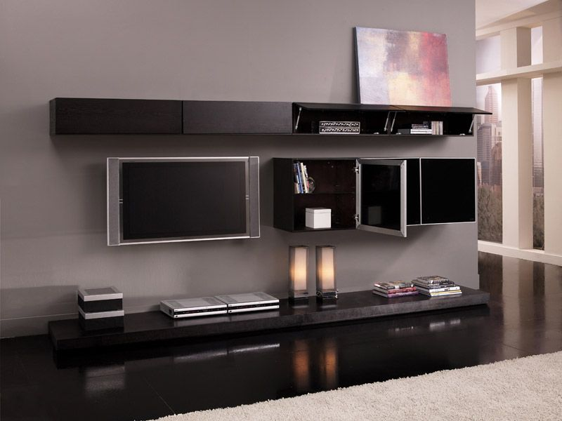 Tv Wall Unit Design In The Living Room: Astounding Grand Plasma Tv