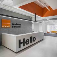 Gallery of Orange Business Services Office / T+T ...