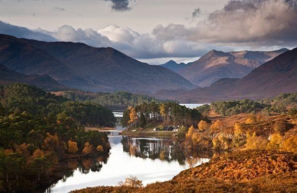 Fall Moutains Wallpaper Glen Affric Scottish Landscapes My Scotland