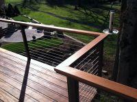 New wood top rail option for Alumarail systems. | Aluminum ...