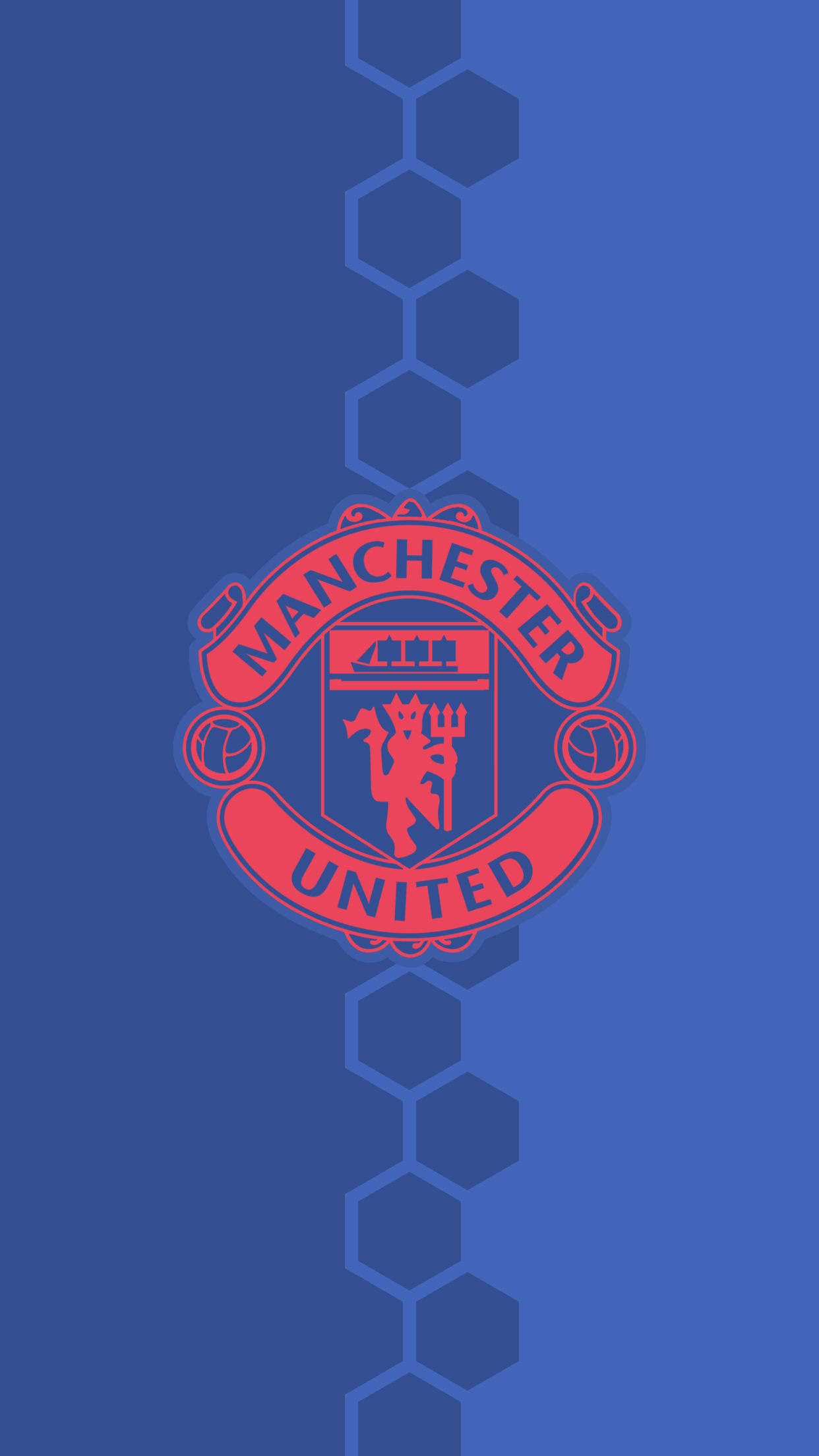 Manchester United 3d Wallpaper For Iphone Download Manchester United Blue Wallpaper Gallery