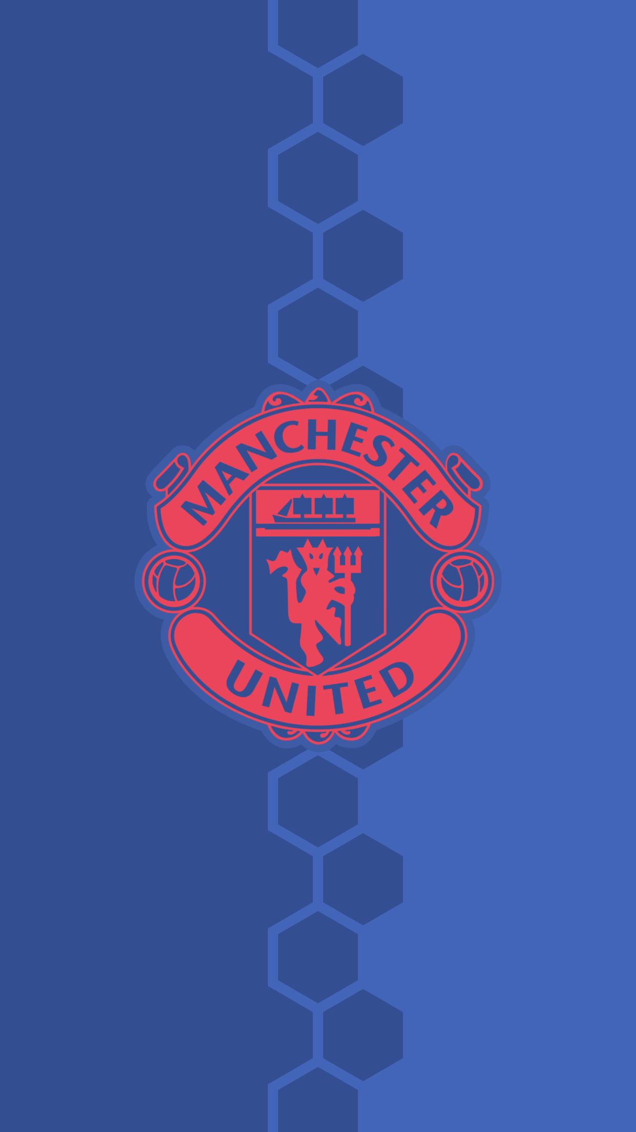 Man Utd 3d Wallpaper Download Manchester United Blue Wallpaper Gallery