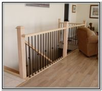White Wrought Iron Stair Railing - Railings : Home ...