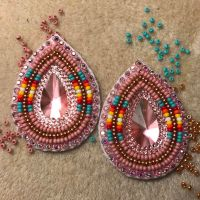 #beaded #earrings   Bead work favs   Pinterest   Bead ...