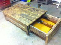 Coffee table gun cabinet | Stuff to make | Pinterest ...