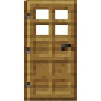 minecraft door. A lot of work.....
