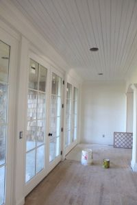 white dove walls and simply white trim and ceiling ...