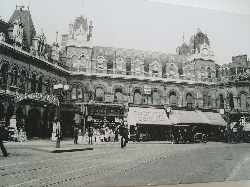 Highbury And Islington Station Before Being Bombed During
