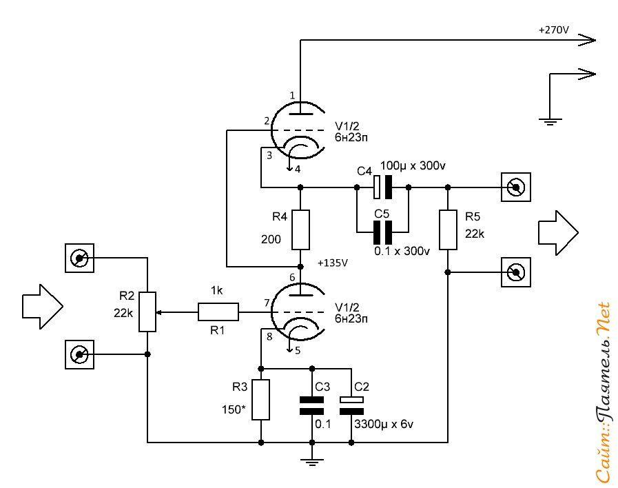 guitar amp circuit diagram view diagram