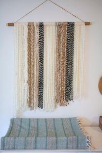 boho yarn wall art tutorial on LMM   DIY Furniture and ...