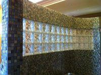 Glass block and tile showers in Houston Texas, Doorless ...