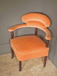 Victorian Corner Chair | Antique Furniture | Pinterest