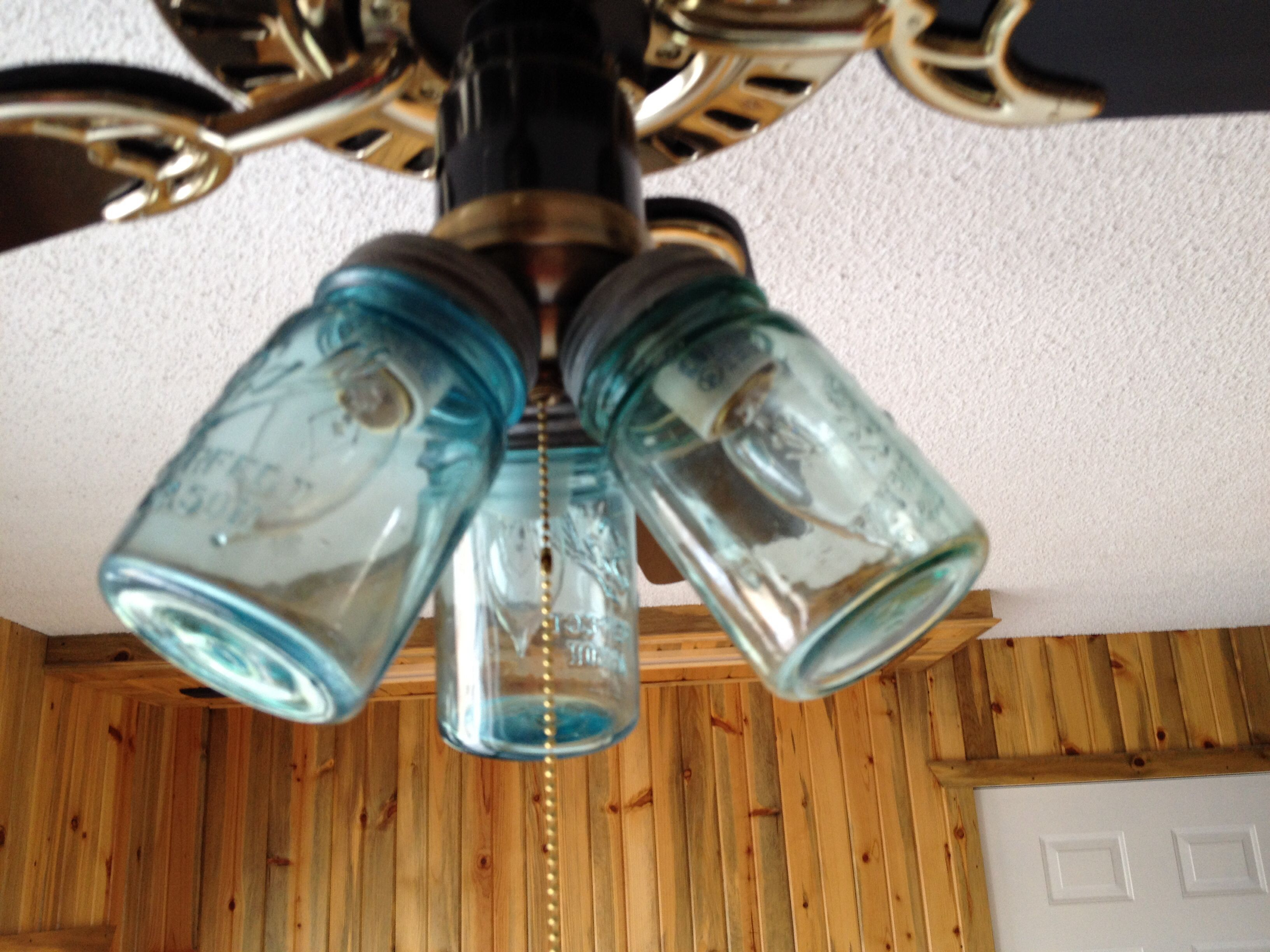 Ceiling Fan Covers Mason Jar Ceiling Fan Light Covers Home Sweet Home