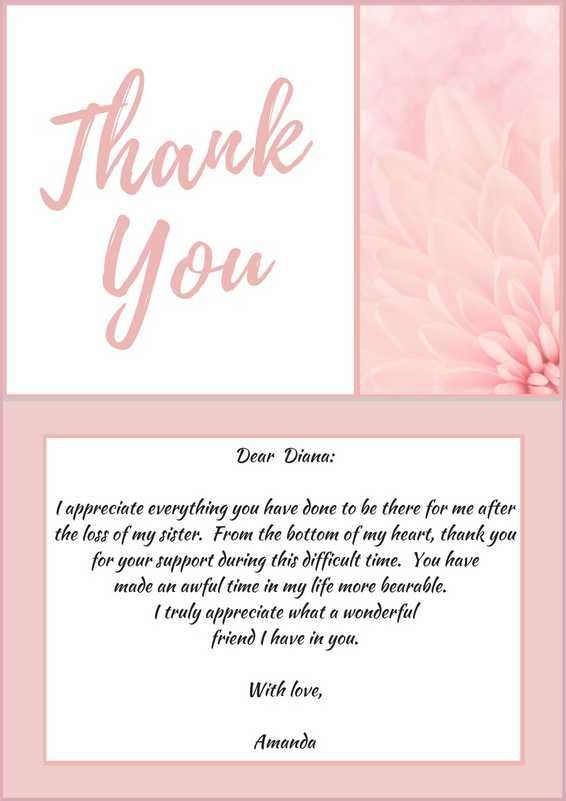 thank you notes pinterest sympathy funeral write note for - funeral thank you note