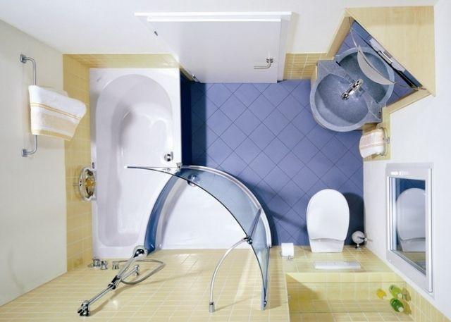 badezimmergestaltung kleine bäder raum optimal nutzen Badideen - badideen fur kleine bader