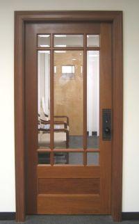 Craftsman Exterior Wood Front Entry Door DbyD-4016 | doors ...