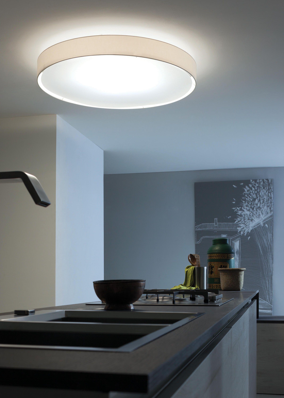LED Deckenleuchte Vince Aluminium LED Deckenlampe Eckig Wohnzimmer Lampenwelt