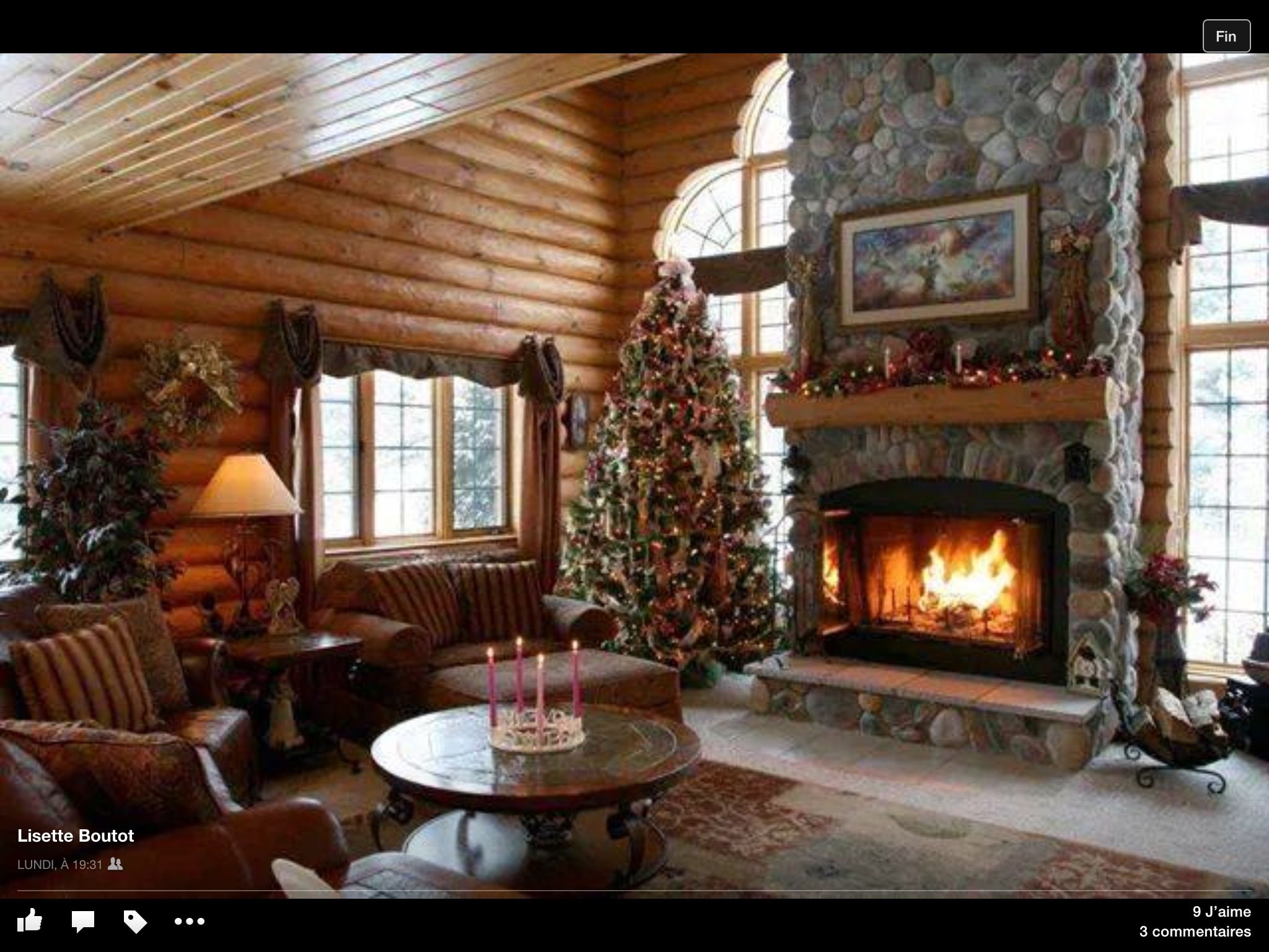Decoration Noel Interieur Maison Decorations Noel Interieur Chalet Cabin Sweet Cabin