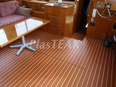 Teak And Holly Marine Floor Landworthy Teardrop