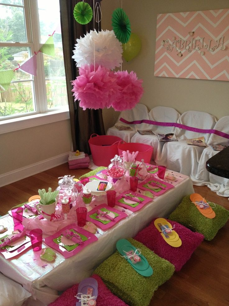 Spa Party Ideas For Girls My daughters spa party! Party Ideas - spa ideas for home