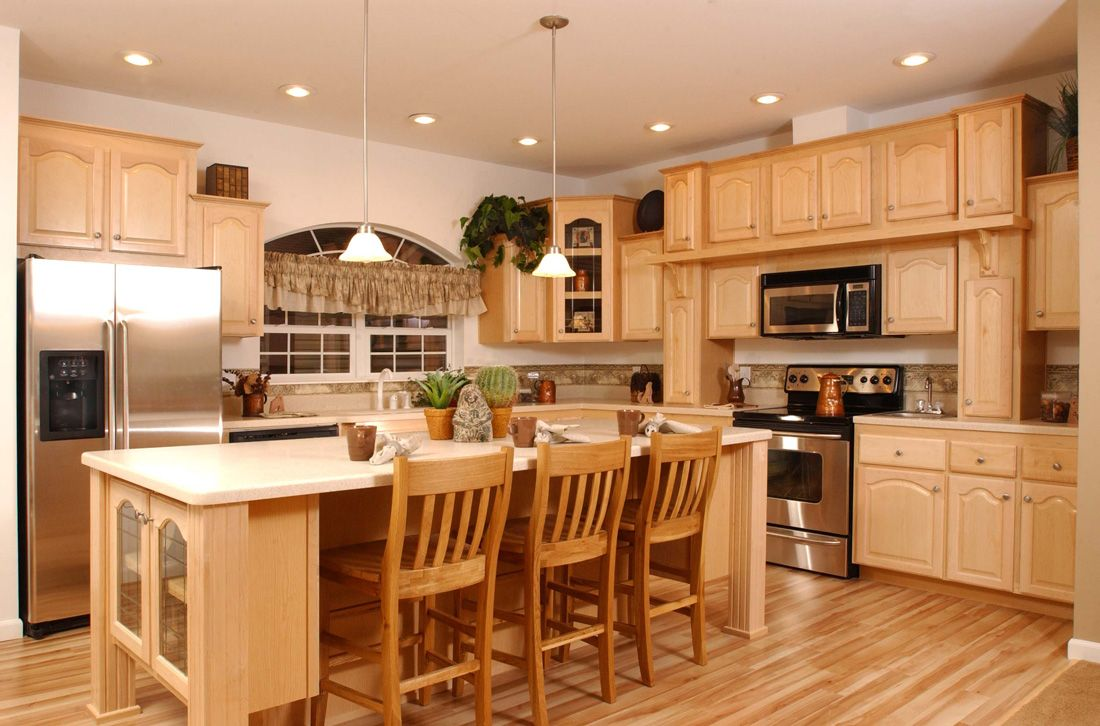 Kitchen light wooden standing kitchen cabinets color and cooktop with oven range lovely free standing kitchen