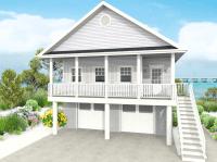 Modular Beach Houses On Stilts
