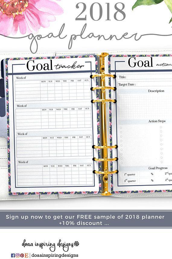 Amazing 2018 Goalsetting Planner , Goalsetting Setting Planner   Sample Agenda  Planner