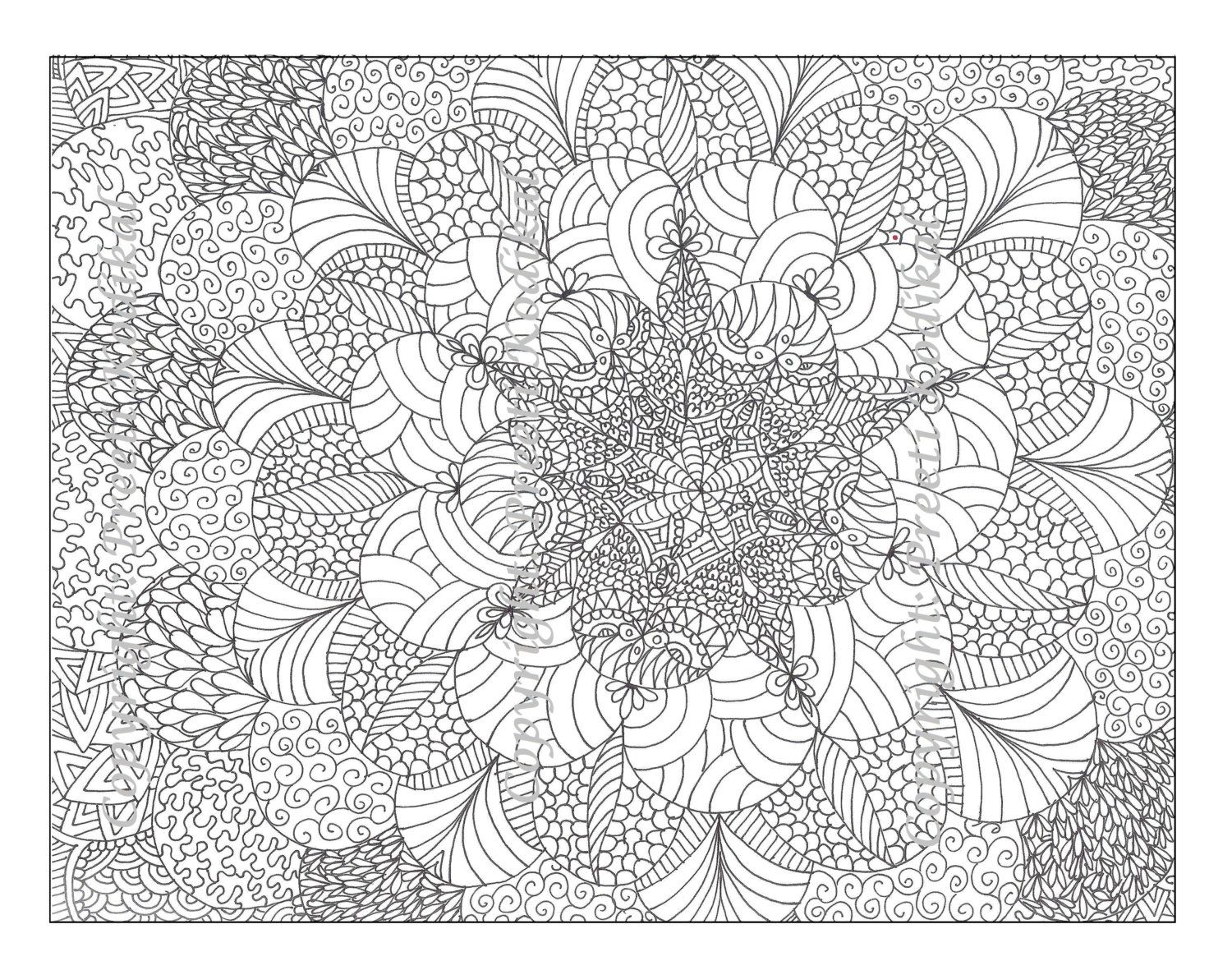 Adult pattern coloring pages printable tagged with detailed coloring page