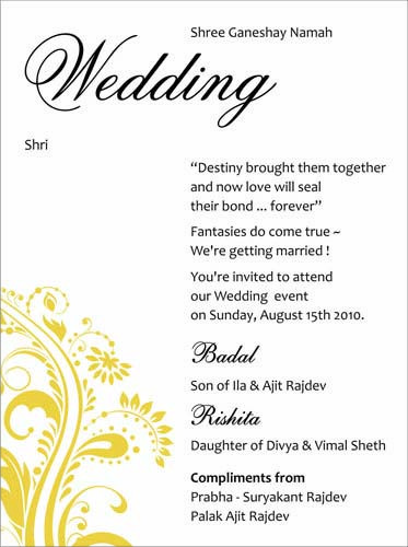 Best 25+ Indian wedding invitation wording ideas on Pinterest - ms word invitation templates