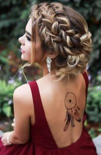 27 Gorgeous Prom Hairstyles for Long Hair | Messy french ...