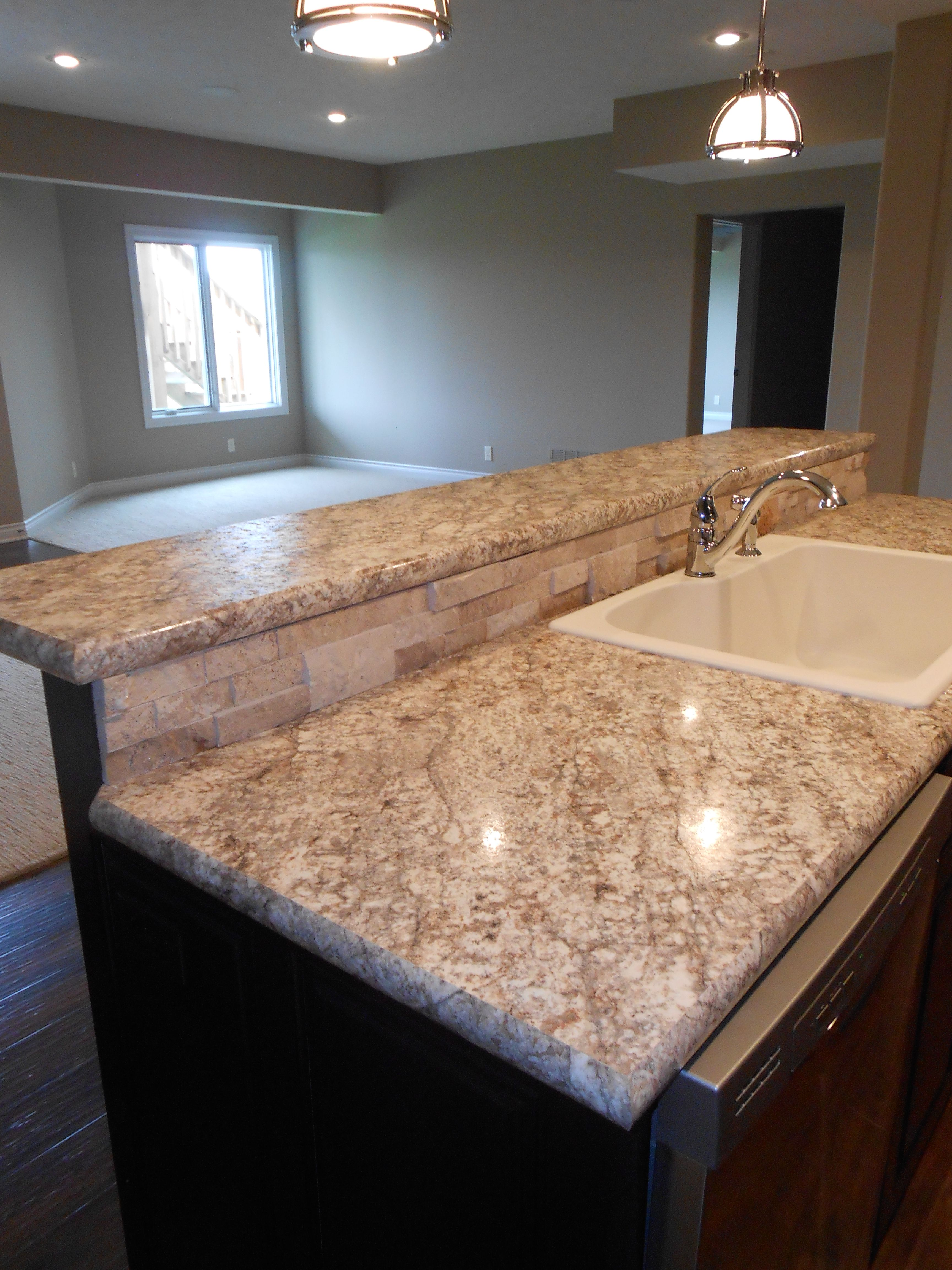 laminate countertops portland oregon formica kitchen countertops Wilsonart Granito Amarelo Mirage Laminate Kitchen Countertop