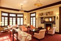 Rooms with Dark Wood Trim | Living Room Colors With Dark ...