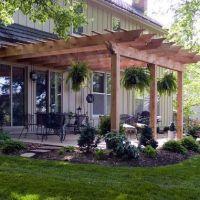 Creative Pergola Designs and DIY Options | Pergolas, House ...