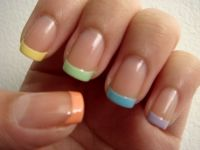 Pastel manicure!   Manicure, Nail nail and Pastel nails