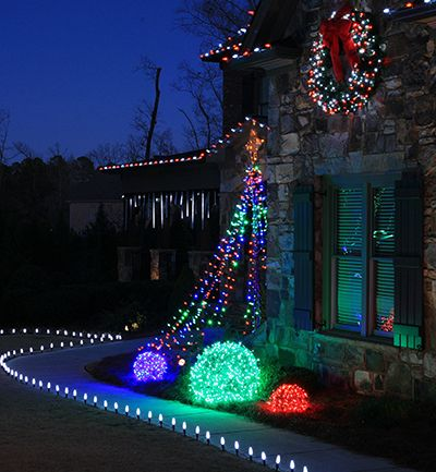 Top 10 Outdoor Christmas Lights Ideas Basketball hoop, Outdoor - outdoor led christmas decorations
