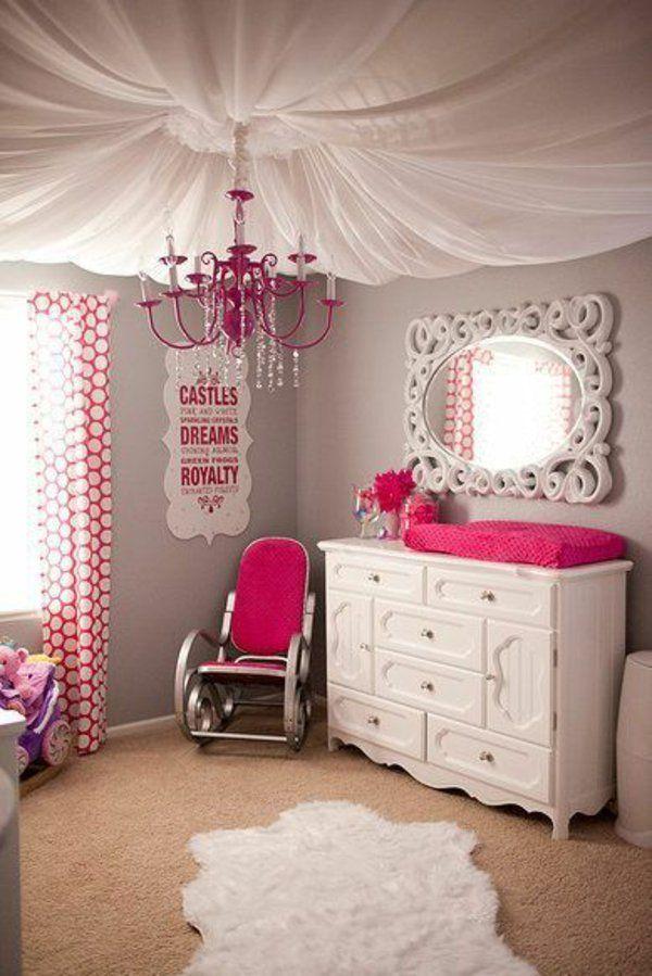 modernes kinderzimmer deckenlampe gardinen kronleuchter Ideen - kronleuchter fur kinderzimmer