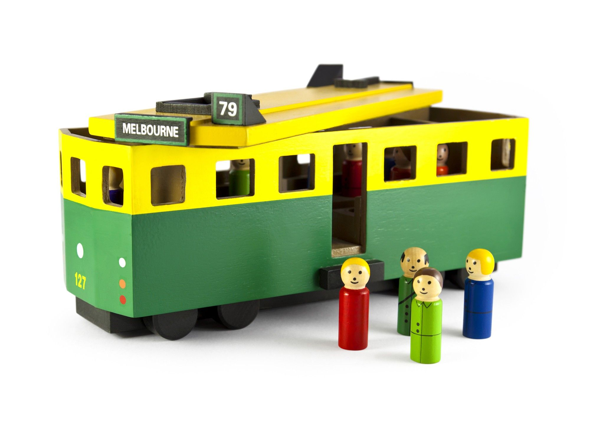Toy Melbourne Make Me Iconic Melbourne Tram Toys Big Dreams Baby