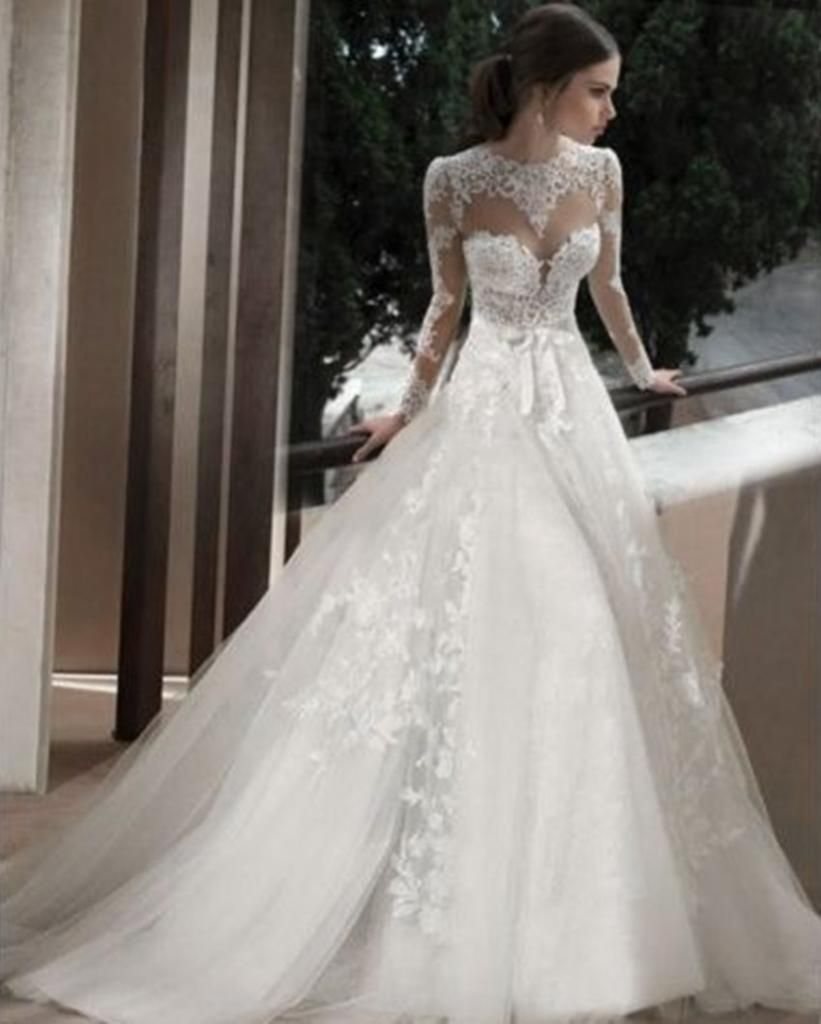 wedding dress with lace Lace wedding dresses