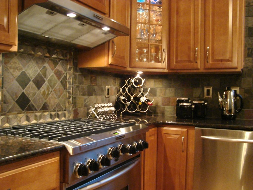 Ideas For Kitchen Backsplashes With Granite Countertops Backsplash Ideas For Black Granite Countertops Interior
