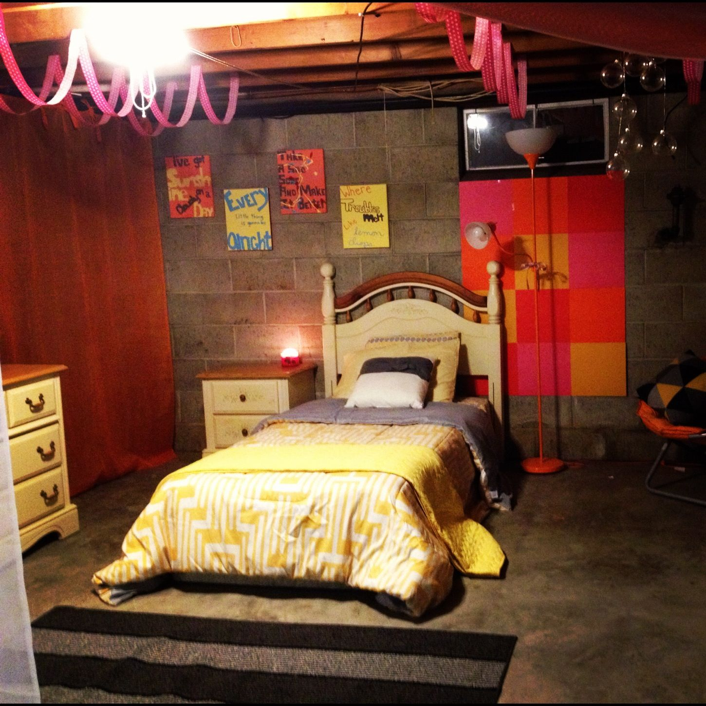 Basement Bedroom Ideas For Teenagers Basement Bedroom Cool Idea For Those Who Can 39t Afford To