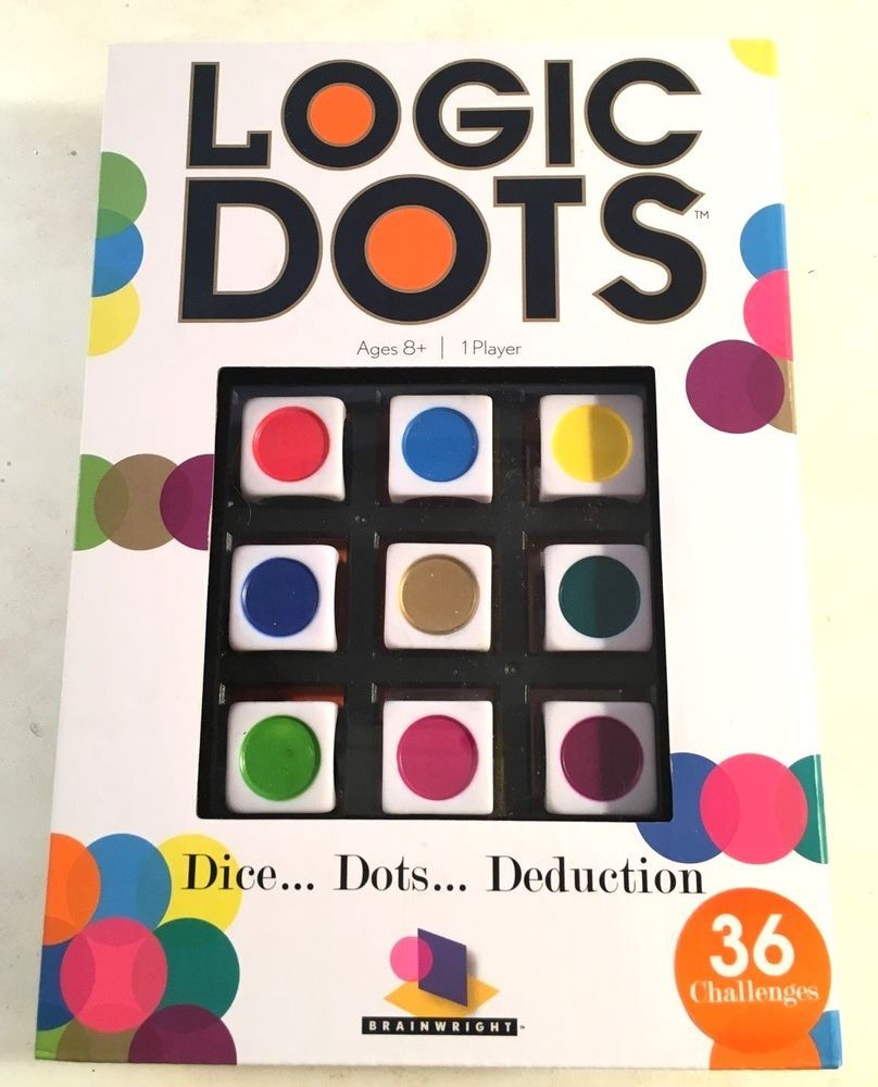 Garage Sale Dots Logic Dots Game Education Toy Deduction New Unopened