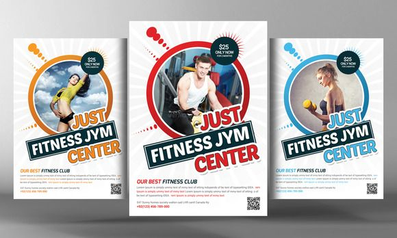 Check out Fitness Flyer Template by Corporate Flyers Postcard on - fitness flyer