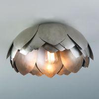 Metal Lotus Flush Mount Ceiling Light for my living room ...