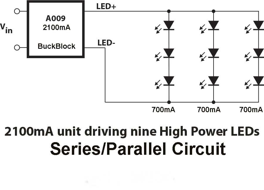 led parallel wiring diagram