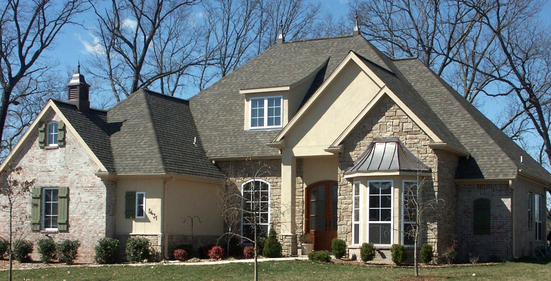 Brick And Stone Exterior Combinations Brick And Stone Combinations Double Hung And Specialty